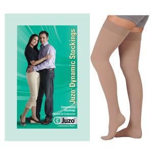 Juzo Dynamic Thigh-High X-Firm Compression Stocking, Short Size 2, Beige