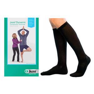 Juzo Dynamic Knee High Compression Stocking, 40-50 mmHg, Size 3, Black