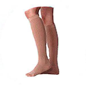 Juzo Varin Knee High Firm Compression Stockings Size 4 Regular, Beige