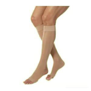 Juzo Varin Knee-High Compression Stockings, Size 3, Beige