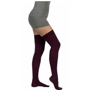 Juzo Dynamic Thigh-High Compression Stockings, Size 3, Black
