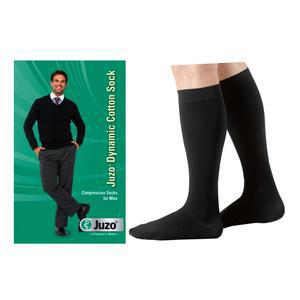 Juzo Men Dynamic Cotton Firm Knee-High Compression Socks, Size 2