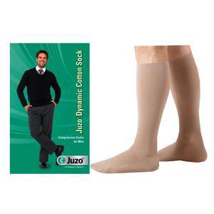 Juzo Men Dynamic Cotton Firm Knee-High Compression Socks, Size 2, Khaki