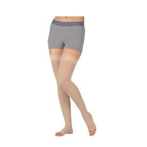 Juzo Basic Thigh-High Compression Stocking, Size 3, Beige