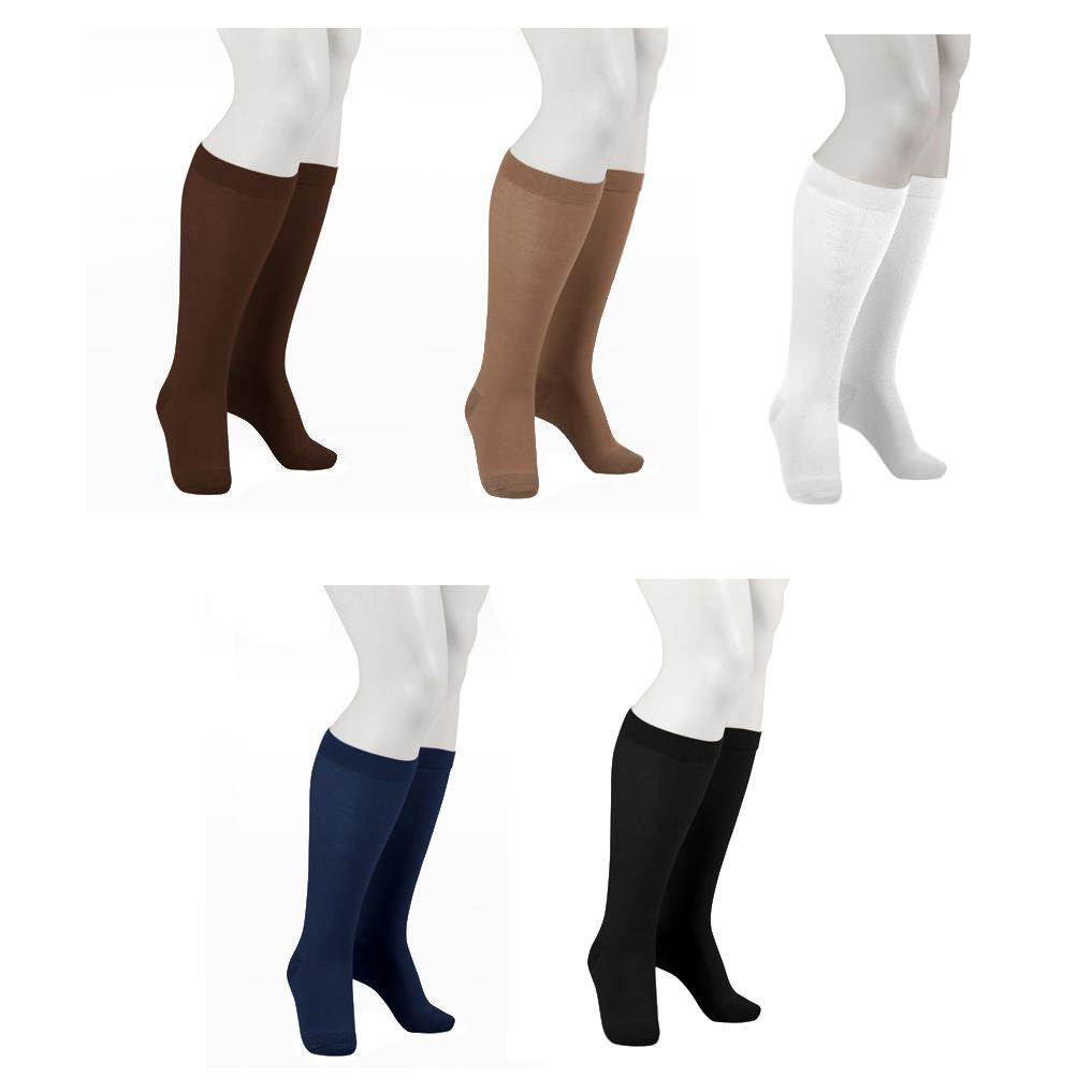 Juzo OTC Knee-High Cotton Socks Unisex