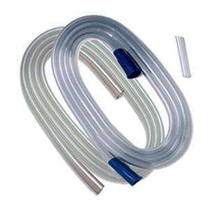 """Kendall Curity Non-Conductive Connecting Tube with Molded Connectors, 3/16"""" x 10 ft"""