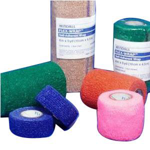 "Flex-Wrap Non-Sterile Cohesive Bandage, Bulk, 6"" x 5 yards"