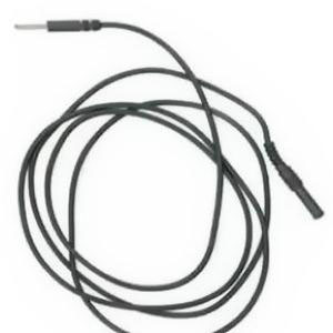 "Kendall Socket Leadwire Safe-T-Linc 24"" Black/White"