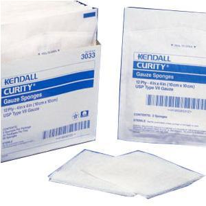 "Curity Sterile Gauze Sponge, 16-Ply, U.S.P Type VII, 10s, Sterile 4""x 4"""