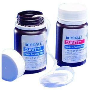 """Curity Iodoform Packing Strips, Sterile 2"""" x 5 yards"""