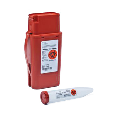 Kendall Transportable Sharps Container 1 Quart