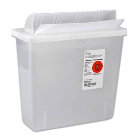 Kendall SharpSafety In Room Sharps Container 2 gallon
