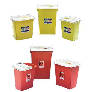 Kendall PGII D.O.T. Compliant Sharps Disposal Container 8 gallon