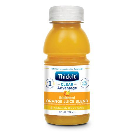 Kent Thick-It Honey Consistency Orange Flavor Thickened Beverage, 8 oz.