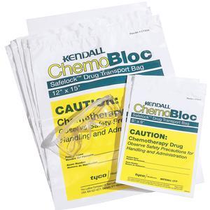 """Kendall Safelock Chemo Drug Transport Bag 12"""" x 15"""""""