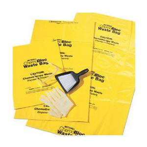 Kendall ChemoPlus Chemo Soft Waste Bag with Closure Tie 30 gallon