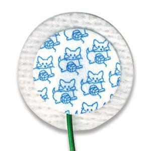 Medi-Trace Kittycat Neonatal Prewired Electrode, Small Cloth