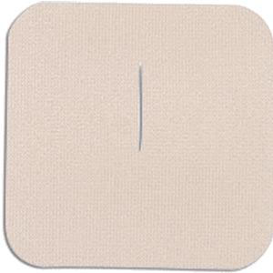 "Uni-Patch Single Use Tape Patch Cloth Low Tac Slit Opening 3"" x 3"""