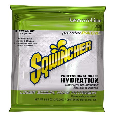 Sqwincher Powder Pack Electrolyte Replenishment Drink Mix