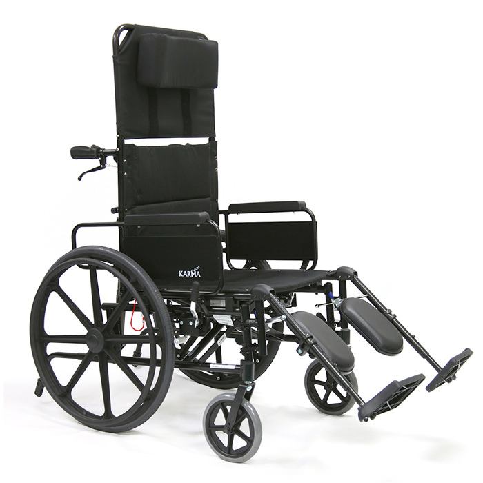 Karman healthcare self propel reclining wheelchair