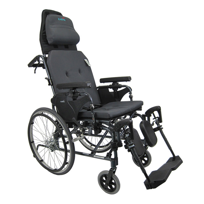 Karman healthcare manual propel reclining wheelchair