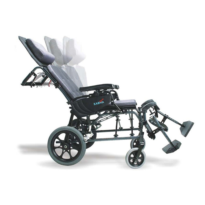 Karman healthcare MVP502TP reclining wheelchair