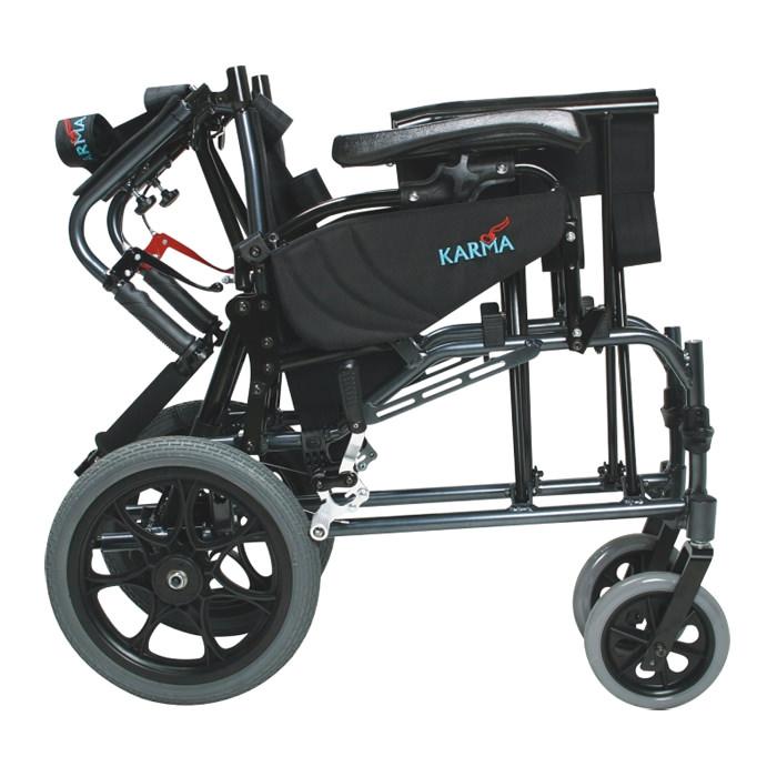 Karman healthcare MVP502TP folding transport wheelchair