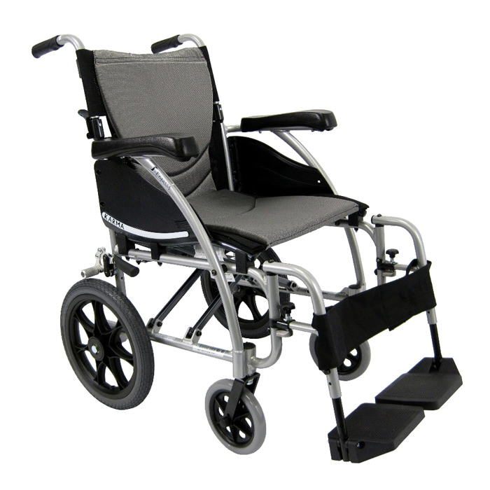 Karman healthcare S-ERGO 115-TP lightweight transport wheelchair
