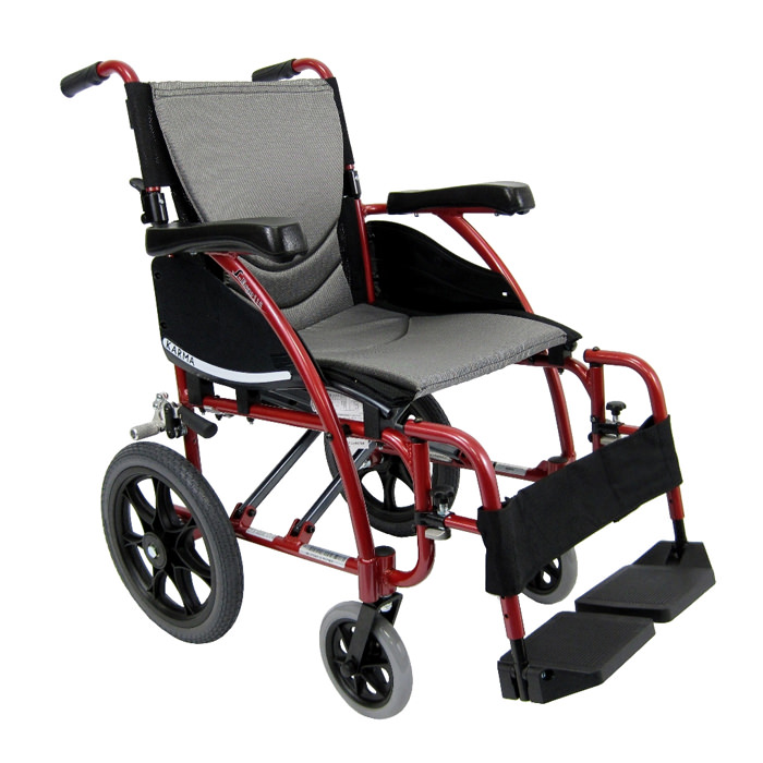 S-ERGO 115-TP lightweight transport wheelchair