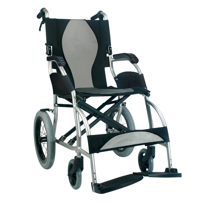 Karman healthcare ergo lite transport wheelchair