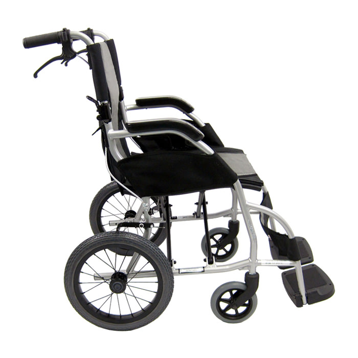 Karman healthcare ergo lightweight transport wheelchair