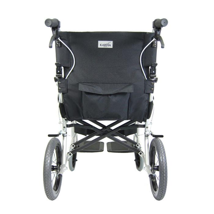 Ergo lite transport wheelchair - Companion hill brakes