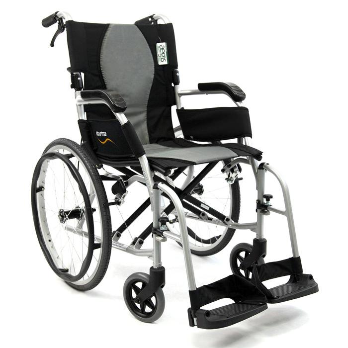 Karman healthcare ergo flight wheelchair with caregiver brakes