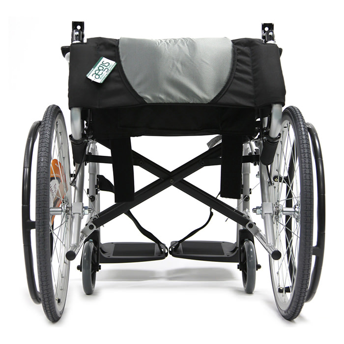 Karman healthcare ergo flight wheelchair - Folding backrest