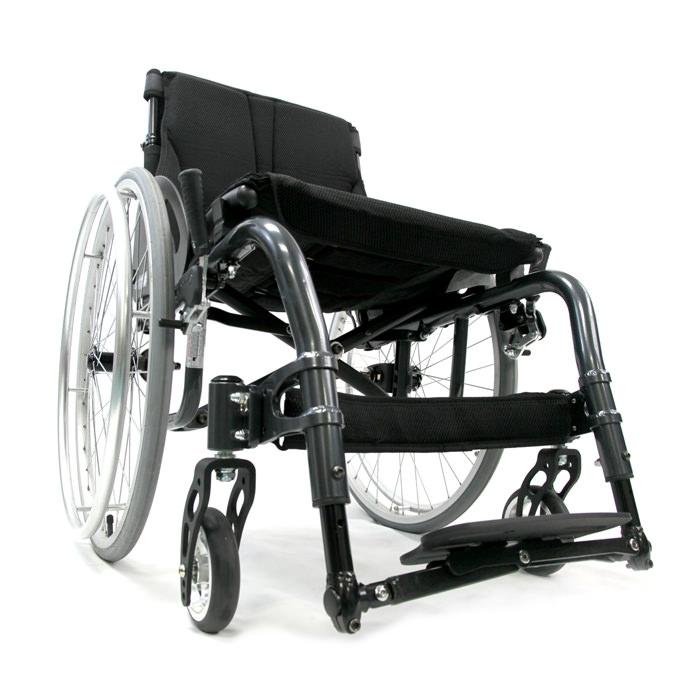 Karman ATX ergonomic ultralight wheelchair - Black
