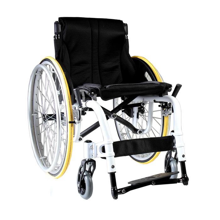 S-ERGO ATX ultralight wheelchair - White