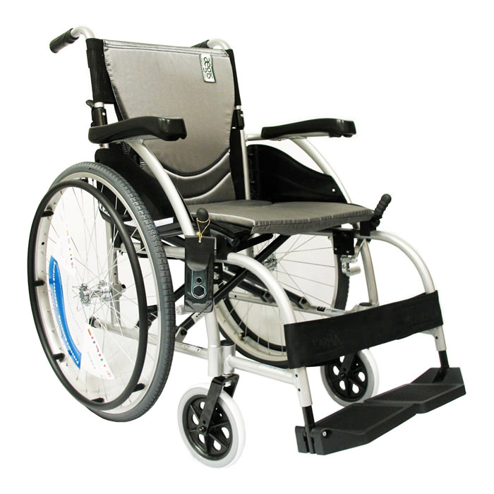Karman healthcare basic ergonomic lightweight wheelchair