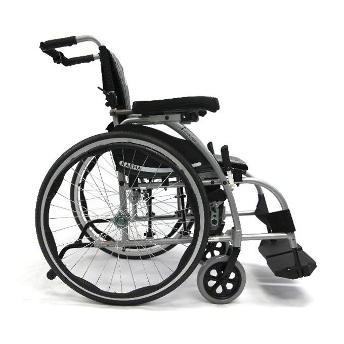 Karman S-style reclining wheelchair