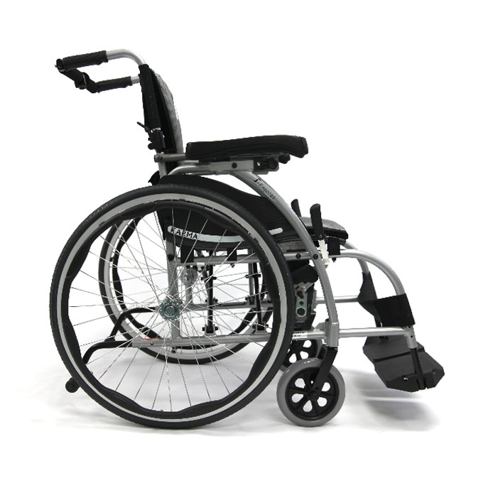 Karman S-style reclining wheelchair