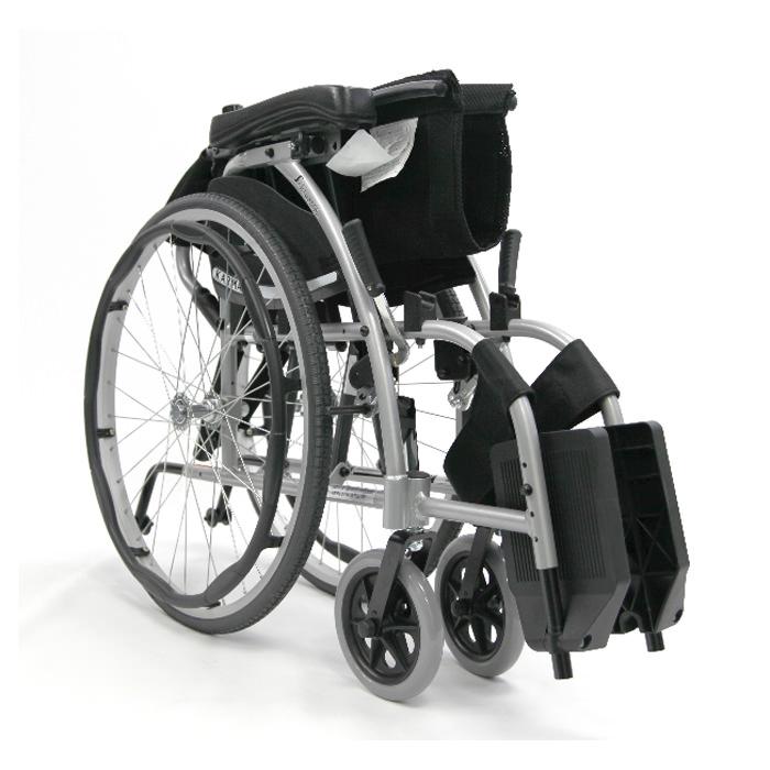Karman healthcare ergonomic folding wheelchair