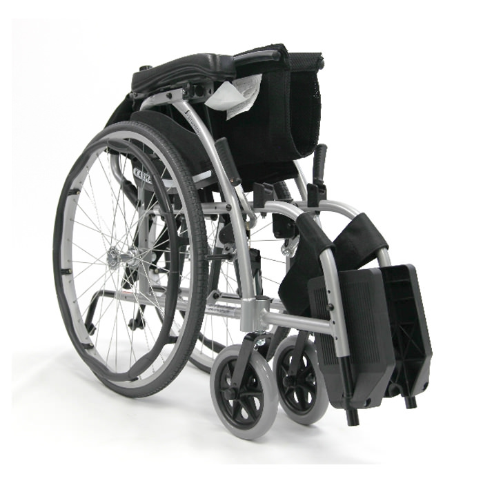 Karman healthcare ergonomic folding wheelchair