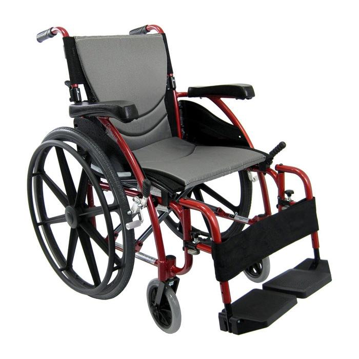 Karman healthcare ergonomic 115 lightweight wheelchair
