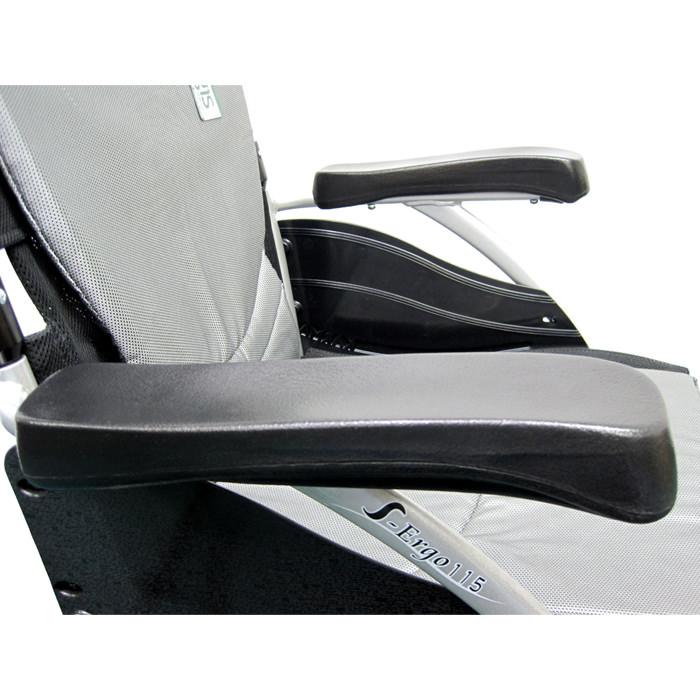 Karman healthcare S-ERGO 115 lightweight wheelchair - Fixed armrest