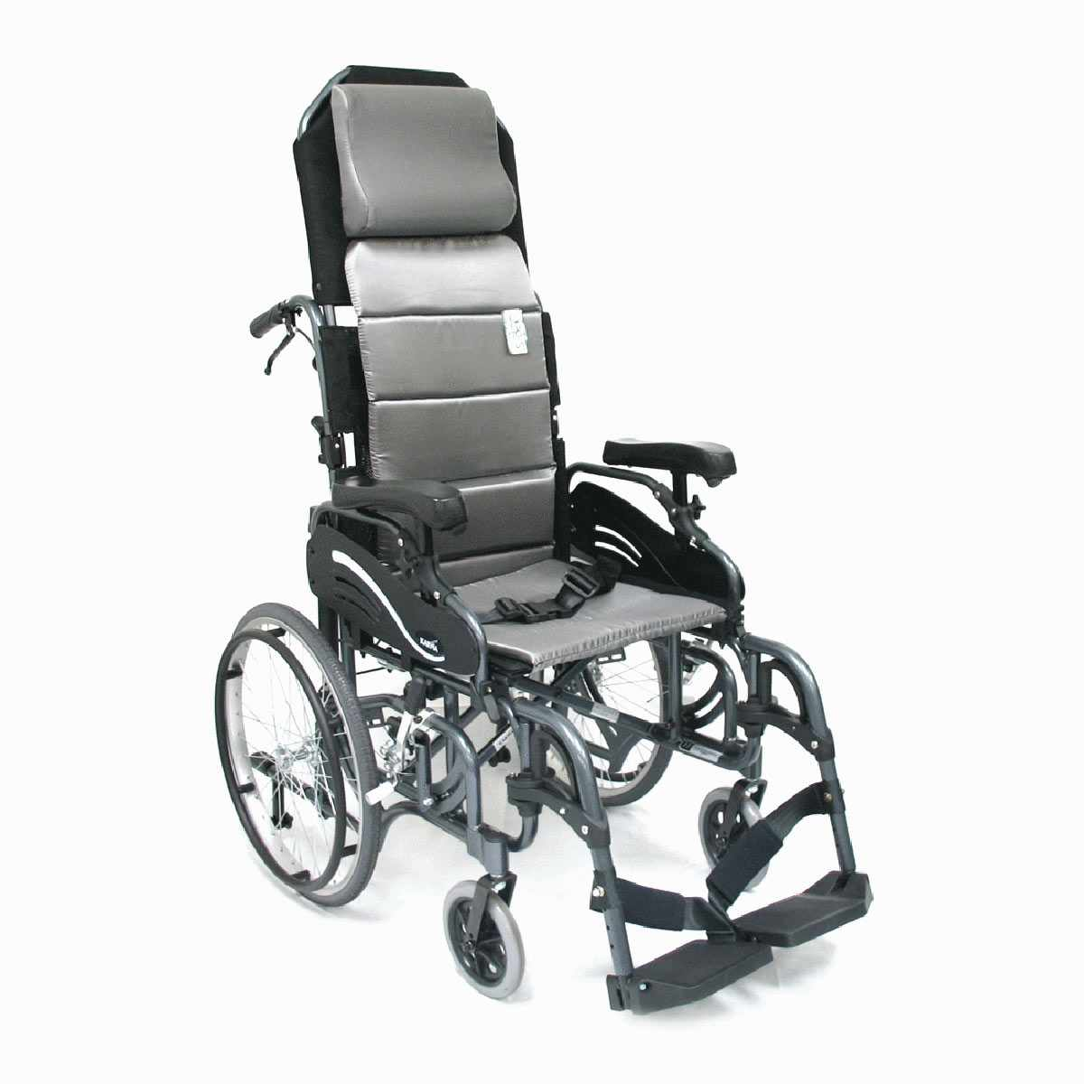 Karman healthcare foldable tilt-in-space wheelchair