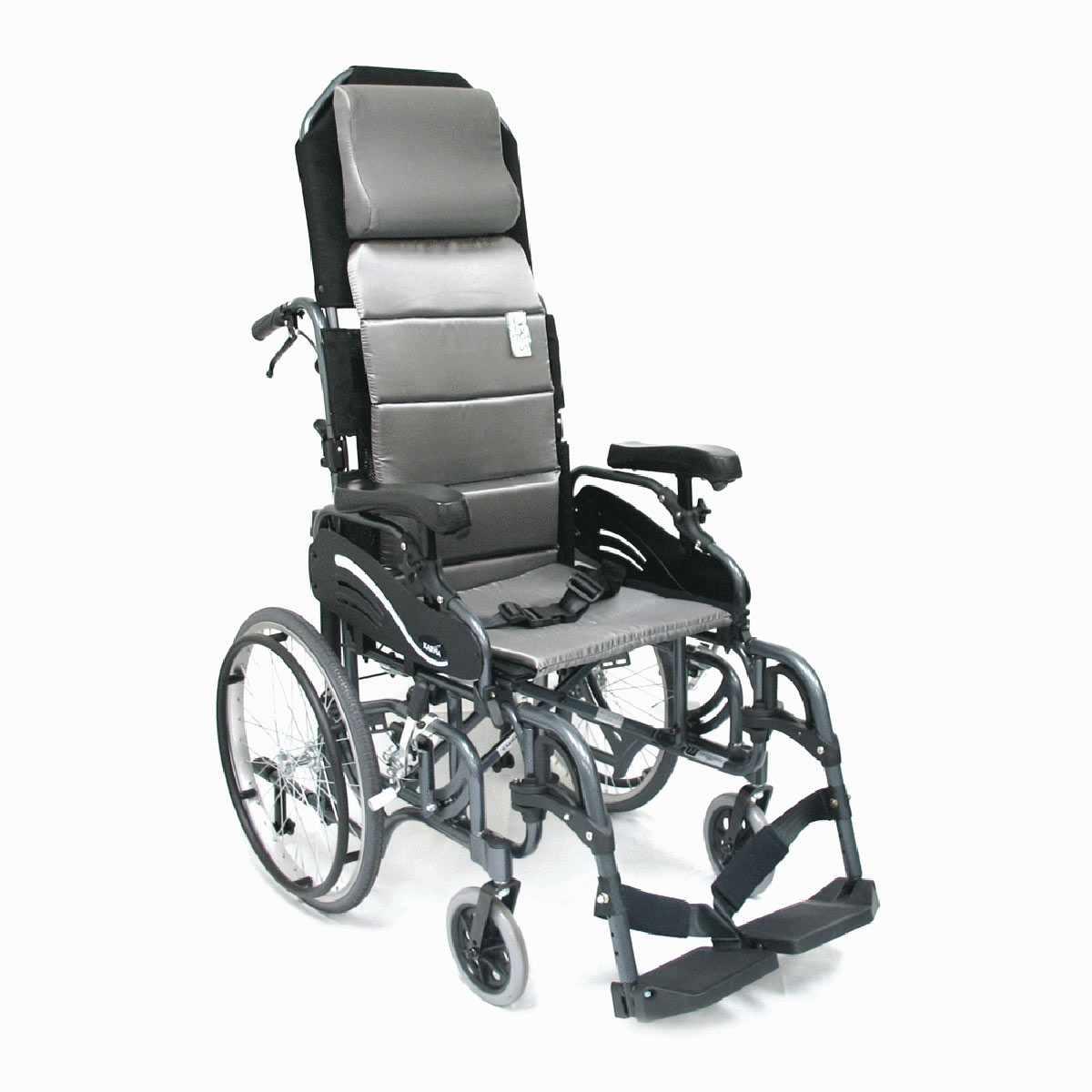 Karman healthcare foldable tilt-in-space wheelchair