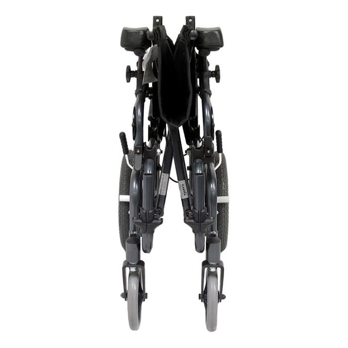 Karman healthcare tilt-in-space foldable transport wheelchair