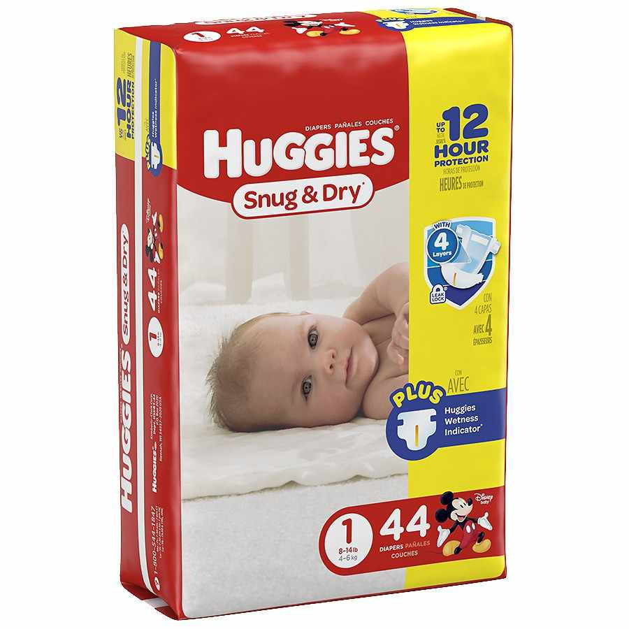 Huggies Snug & Dry Diaper, Heavy Absorbency