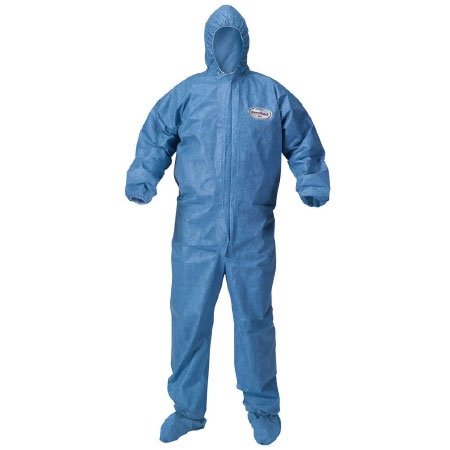 Kleenguard A60 Elastic Wrist/Ankle Coverall Large