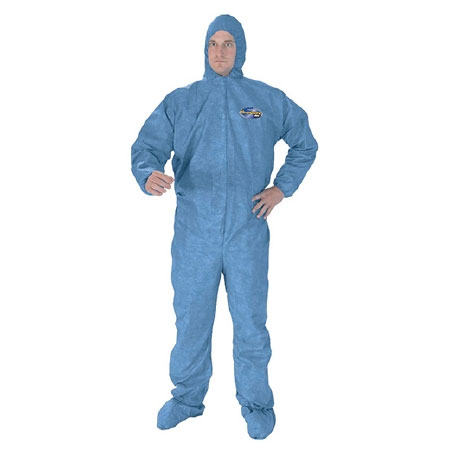 Kleenguard 3 Layer Fabric Elastic Wrist Coverall X-Large