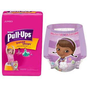 Huggies Pull-Ups Learning Designs Training Pant, for Girl, 2T to 3T